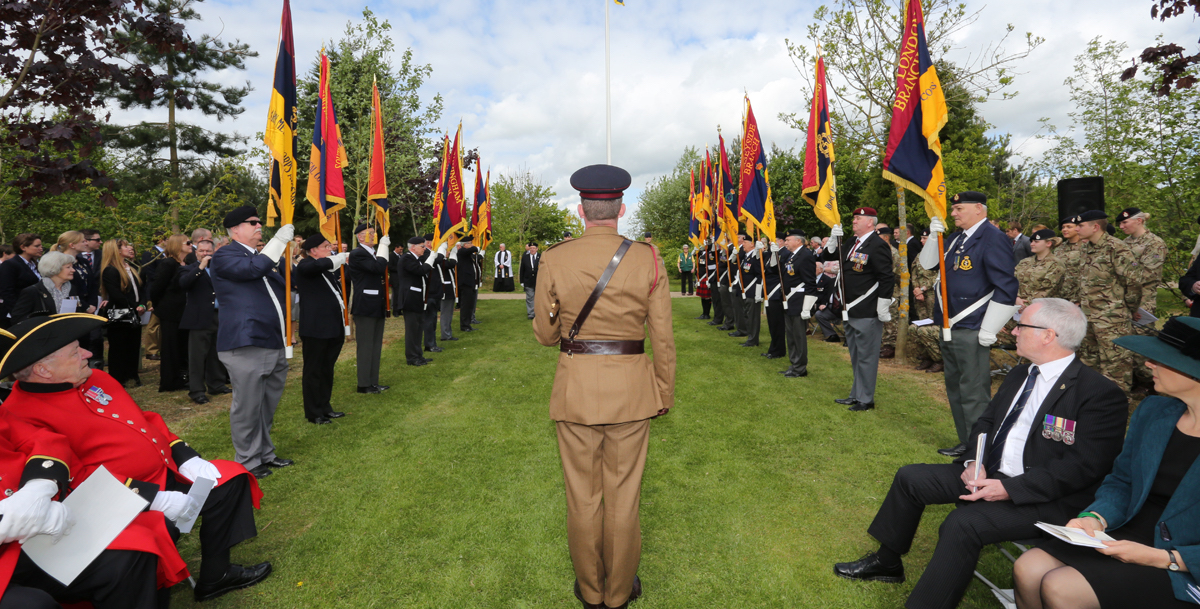 Branch Standards Parade at the NMA