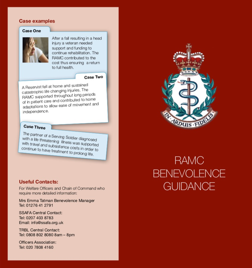 RAMC Benevolence Guide